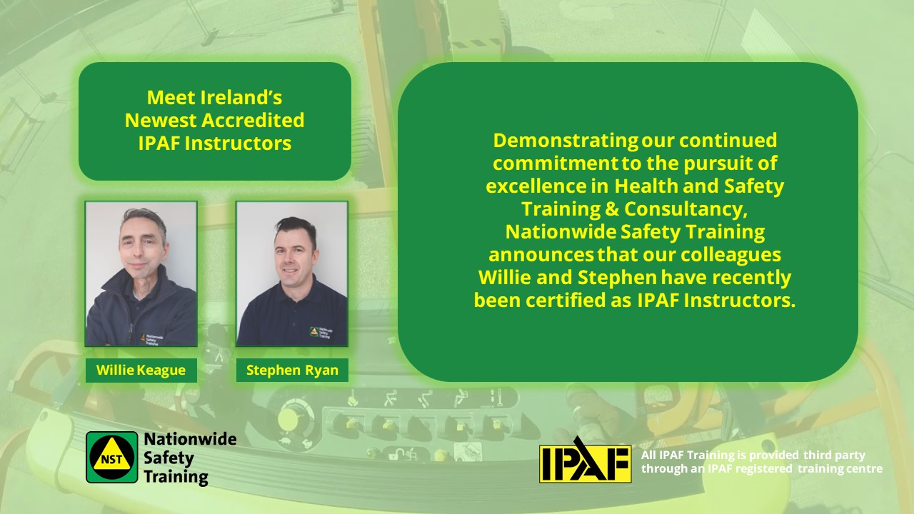 Accredited MEWPs and IPAF Instructors
